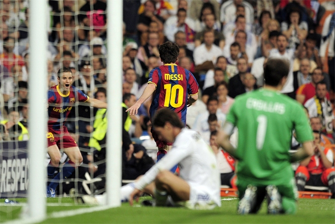 Image result for madrid v barca cl semi 2011