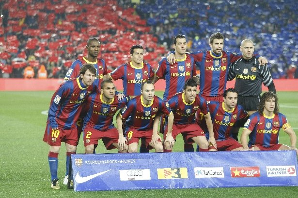Barca Back To Work For The 2011 2012 Season Barcacentral