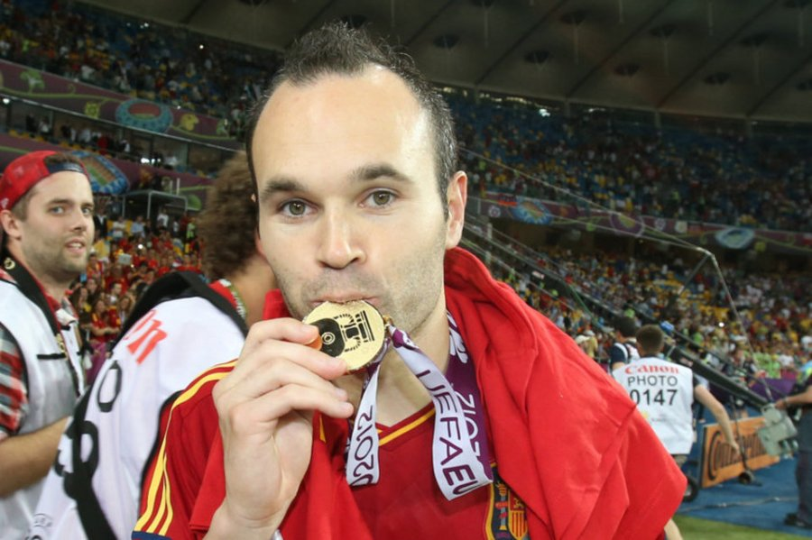 Player of the tournament Andres Iniesta