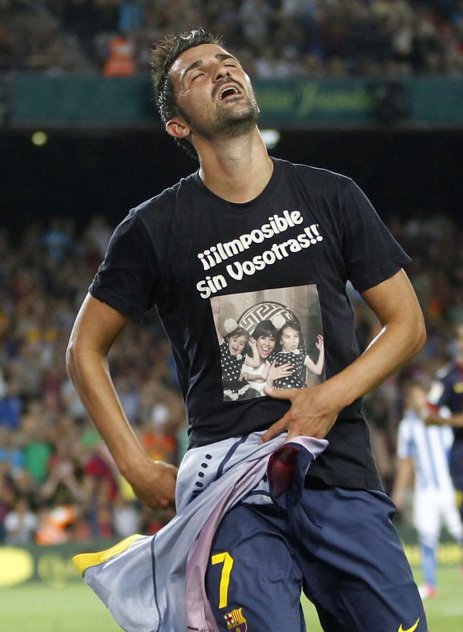 imposible sin vosotras david villa real sociedad