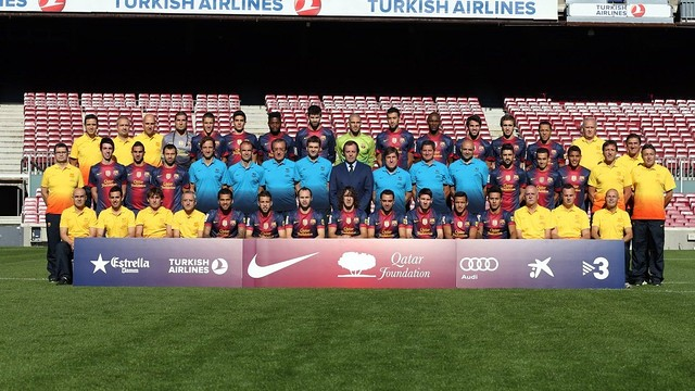 barça official photo 2012 2013