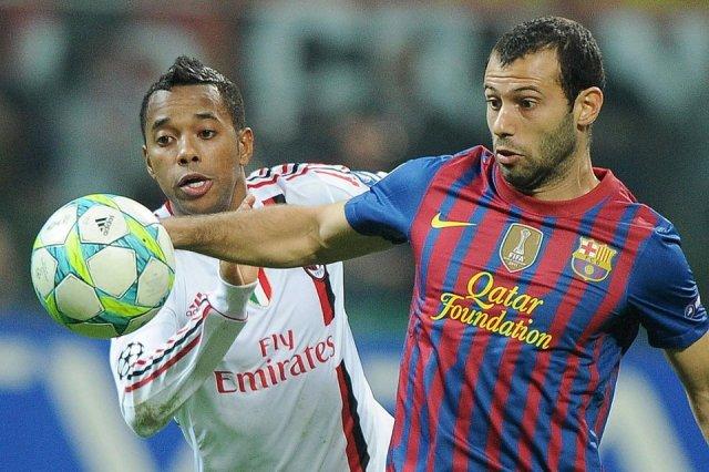 AC Milan 0-0 barcelona mascherano