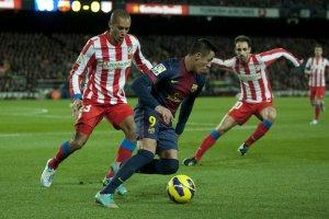 Barcelona 4-1 Atletico Madrid Alexis Sanchez