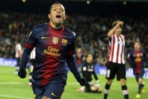 barcelona 5-1 athletic adriano goal