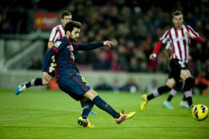 barcelona 5-1 athletic fabregas goal