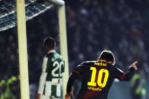 cordoba 0-2 barcelona messi goal