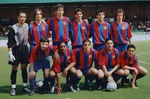 Generation 87 Piqué Messi Fabregas