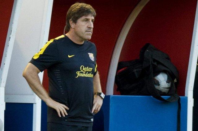 Jordi Roura new barça coach to replace Vilanova