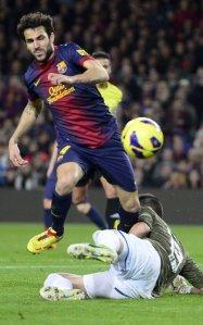 barça 4-0 espanyol fabregas penalty