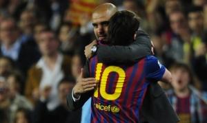 barcelona 4-0 espanyol messi guardiola
