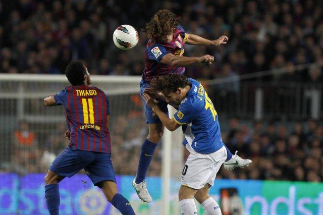 barcelona 4-0 espanyol puyol