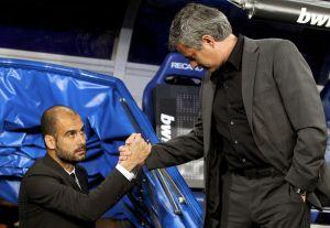 guardiola mourinho handshake