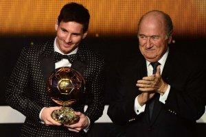 messi fifa ballon d'or 2012