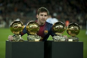 messi four ballon d'or
