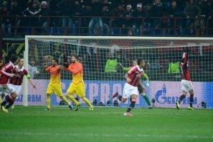 ac milan 2-0 barcelona goal boateng piqué appeal