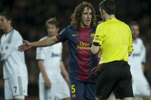 barcelona 1-3 real madrid puyol undiano mallenco 2013