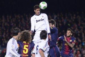 barcelona 1-3 real madrid varane goal