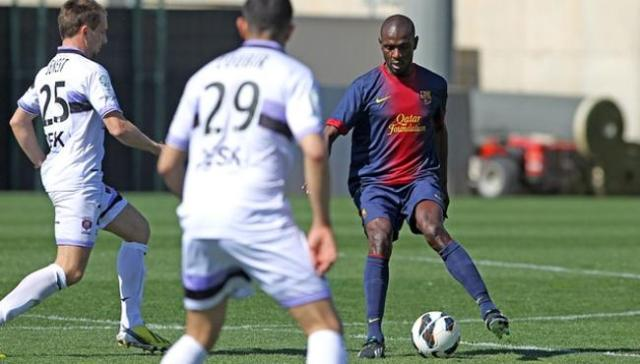 abidal Istres comeback match 2013