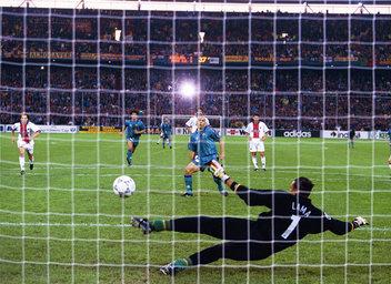 barça psg ronaldo penalty