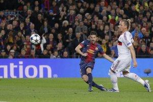 barcelona 4-0 ac milan villa goal 3-0