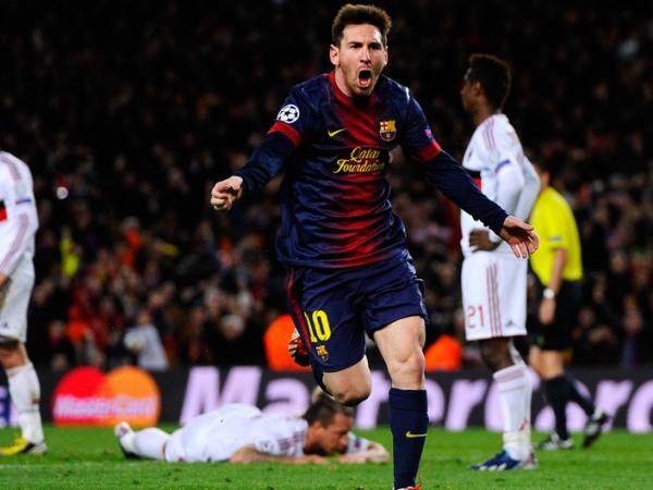 barcelona 4-0 bayern munich messi goal 2009