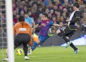 barcelona 5-0 levante alexis sanchez