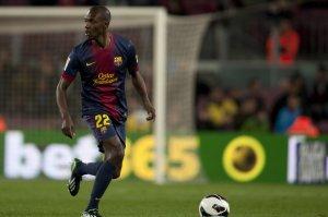 Barcelona 5-0 Mallorca Eric Abidal return 2013