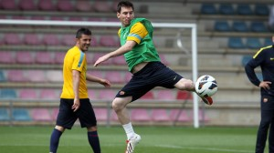 leo messi training 2013