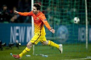 psg 2-2 barcelona messi goal 2013