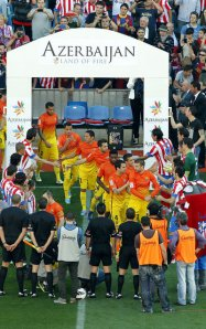 atletico 1-2 fc barcelona guard of honour