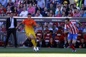 atletico 1-2 fc barcelona tello 2013