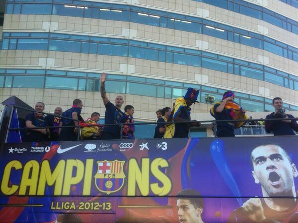 Barça rua 2013