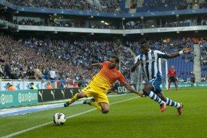 espanyol 0-2 barcelona alves 2013