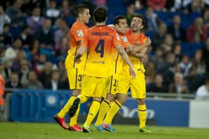 espanyol 0 barcelona 2 pedro goal celebration 2013