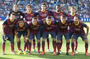 barça team photo valerenga 2013