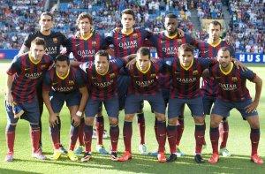 barça team photo valerenga 2013