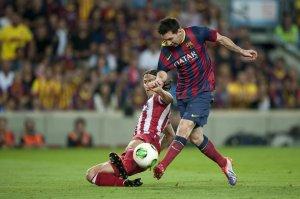 barcelona 0-0 atletico madrid messi filipe luis 2013