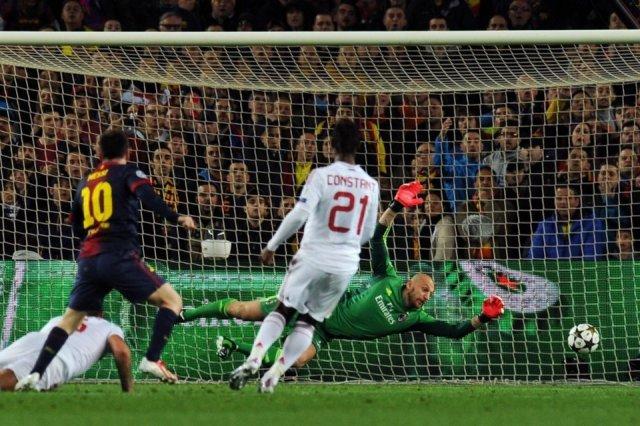 barcelona 4-0 ac milan messi goal 2-0