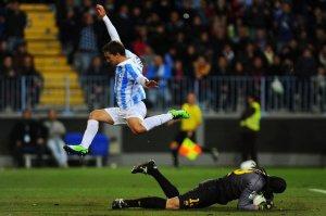 Malaga 2-4 Barcelona copa del rey Pinto