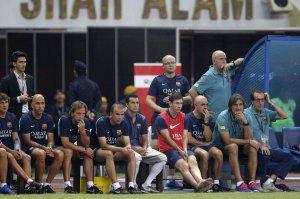 malaysia 1-3 barcelona messi bench 2013