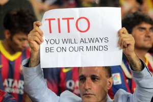 Tito you will always be on our minds 2013
