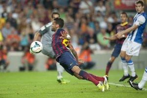 Barcelona 4-1 Real Sociedad Dani Alves 2013