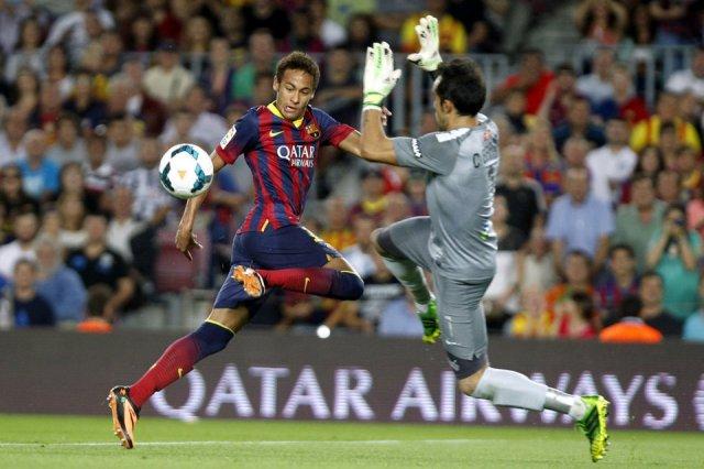 Barcelona 4-1 Real Sociedad Neymar Bravo 2013