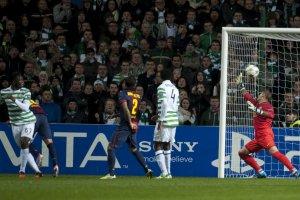 celtic 2-1 barça wanyama goal