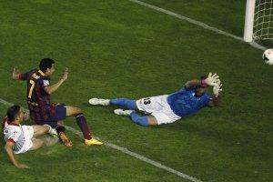 rayo vallecano 0-4 barcelona pedro second goal 2013