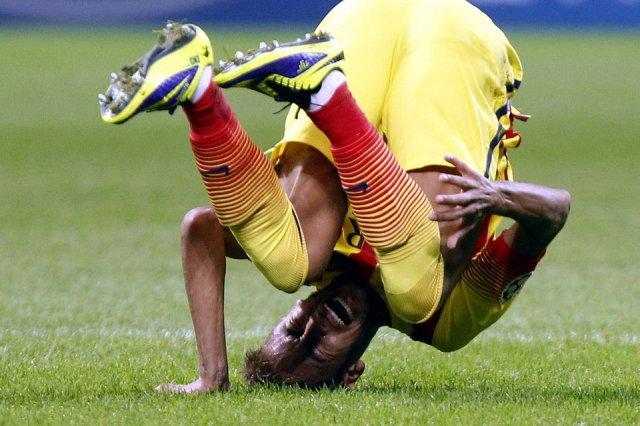 AC Milan 1-1 Barcelona Neymar 2013