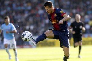 Celta 2-2 Barcelona cristian tello