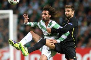 celtic 0-1 barcelona piqué samaras 2013