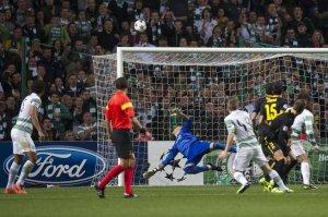 celtic 0-1 barcelona victor valdés save 2013