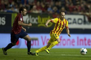 Osasuna 0-0 Barcelona Iniesta 2013